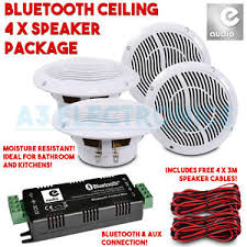 sound system kit. image is loading bluetooth-aux-4-x-ceiling-speaker-sound-system- sound system kit i