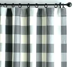 tan buffalo check curtains d gray pottery barn shower curtain scroll to previous item bathrooms black and cream vertica