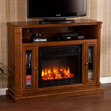 Southern Enterprises Claremont Convertible Cherry Electric Fireplace Media  Console | Hayneedle
