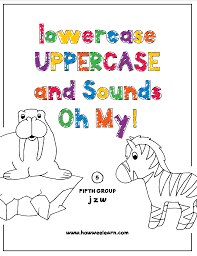 What i love about these alphabet crafts for preschoolers now have toddlers, preschoolers, pre k, and kindergarteners color their paper craft however they like. Free Printable Color By Letter Worksheets Set 5 Letters J Z W How Wee Learn