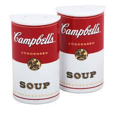 Campbells Salt Pepper Shakers Campbellshopcom