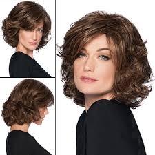 Amazoncom Lvyuanda Women Shoulder Length Full Wigs Highlights