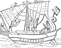 Small Picture Ancient Greek Warriors Coloring Pages how to draw greek ships