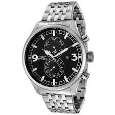 invicta watches on up to 90% off discount watch store invicta 0365 men s ii collection swiss black dial stainless steel watch