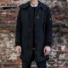 2018 new brand winter mens ma1 long pea coat men s wool coat hooded zipper men trench coat from fashionclothingshoes 86 44 dhgate com