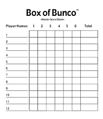 Bunco Score Sheets Template New Free Bunco Score Sheets Printable Cards In Source Scorecard Template