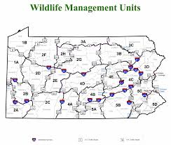 Pa Hunting Hours Chart Wildlife Management Units