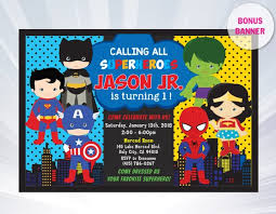 superheroes birthday party invitations superhero invitation superhero invitation templates etsy