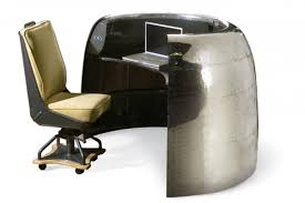 tired of watching vintage airplanes be carted off to the scrap heap this creative company recycles the parts into stunning pieces of retro furniture amazing retro office chair