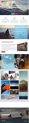 html landing page templates designmaz mountain king bootstrap one page template