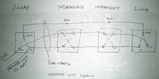 two way and intermediate switches intermediate switch l1 l2 l3 l4 at Intermediate Switch Wiring Diagram