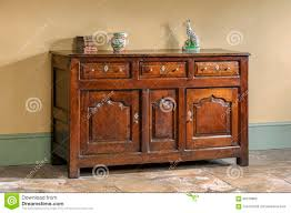 Kitchen Dresser Kitchen Dresser Pine Carved Old Vintage Stock Photo Image 55820031