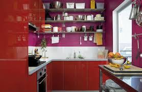 kitchen design purple and white. purple wall paint white backsplash design and red kitchen cabinets h