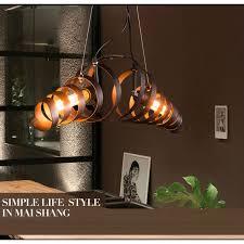 LuKLoy <b>Retro Pendant</b> Light Kitchen <b>Hanging</b> Lamp <b>Ceiling Loft</b> ...