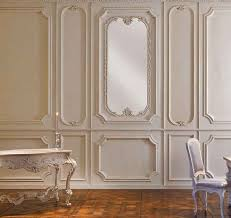 wood decorative panel wall mounted textured molding