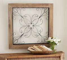 on iron gate wall art with iron window gate wall art pottery barn