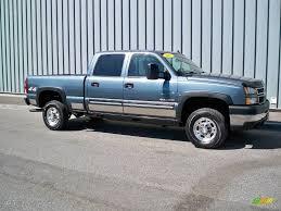 2007 Blue Granite Metallic Chevrolet Silverado 2500HD Classic Crew ...