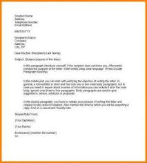 Formal Letter Format To Company 9 Official Letter Writing Examples Pdf Examples