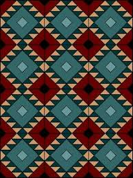 Best 25+ Indian quilt ideas on Pinterest | Southwest quilts, Quilt ... & Zig Zag Block by EQuiltBlocks.Com. Native American inspired. PDF paper  pieced quilt Adamdwight.com