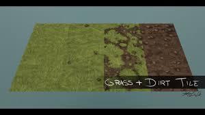 dirt grass texture seamless. [HandPainted] Tileable Grass And Dirt Texture - YouTube Seamless T