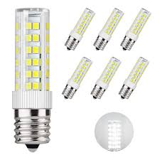 Appliance Light Bulb Microwave Details About Dicuno E17 Led Bulb Microwave Oven Light 6 Watt Appliance Bulb Daylight White
