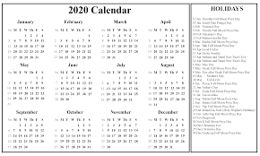 Printable Calendars 2020 With Holidays Printable Free Download Sri Lanka Calendar 2020 Pdf Excel
