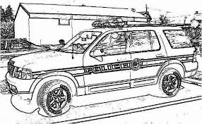 Small Picture Police Car Raid o Criminal House Coloring Page Color Luna