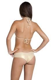 Luli Fama Size Chart Sassy Cheeks Lace Overlay Bikini Bottom White