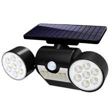 360 Rotating Spot Light Lamp Amazon Com Mzyka Solar Energy Condenser Wall Lamp Spotlight