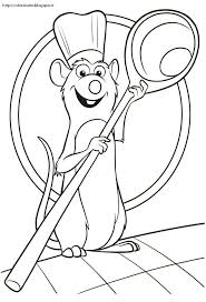 Ratatouille Coloring Pages Pick One From