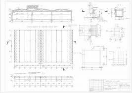 Одноэтажное промышленное здание Фундамент колонна ферма  Одноэтажное промышленное здание фундамент колонна