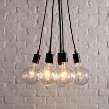 exposed bulb lighting. midcentury pendant lighting by west elm exposed bulb e