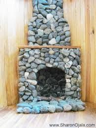 how to make homemade dollhouse furniture cute stone fireplace