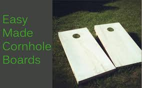 Wooden Bean Bag Toss Game Easy Made CornholeBean Bag Toss Boards YouTube 30