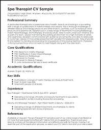 Example Of A Cv Resume Cv Resume Format For Freshers Resume Web