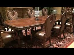 The Sovereign Rectangular Double Pedestal Dining Table By Michael Amini  Furniture