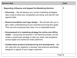 How To Write A Perfect Marketing Proposal With Templates Bidsketch
