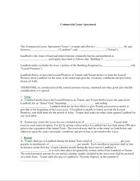 Commercial Tenancy Agreement Template Template Simple Lease Agreement Template 14