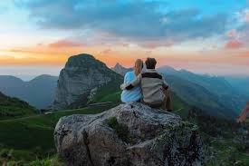 Image result for mountain couple hiking