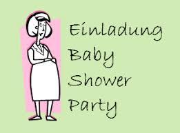 Einladung Zur Baby Shower Party Baby Shower Party
