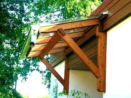 wood awning kit
