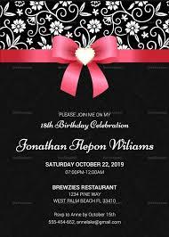 invitation sle for 18th birthday new invitation letter for 18th birthday sle new invitation letter for