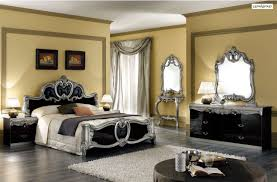 Silver And Black Bedroom Silver Mirrored Bedroom Furniture Raya Furniture