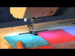 Learn How to Use the Janome Ditch Quilting Foot - YouTube & Learn How to Use the Janome Ditch Quilting Foot Adamdwight.com