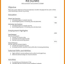 Simple Resume Format Template Google Pdf Latex Docs Indesign Free ...