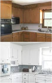 Learn the best ways to open up the possibilities of your kitchen cabinets with this easy 5 step guide, complete with with paintperks, you'll always be the first to hear about big sales and have access to everyday savings and exclusive offers. Painting Oak Cabinets White An Amazing Transformation Lovely Etc