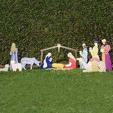 outdoor wooden nativity set plans designs