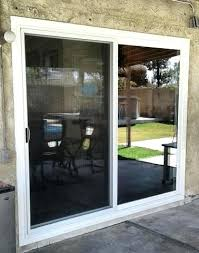 sliding glass door installers replaced sliding patio door with a new sliding door outside view sliding glass door wheel replacement