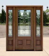 Affordable Mahogany Front Doors with Walnut Finish