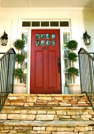 red double front doors. Perfect Red Front Doors  Wood Glass Modern And Double Entry For Red L
